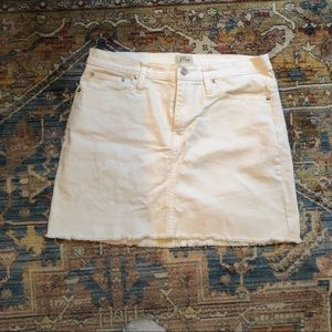 J.crew - white denim skirt